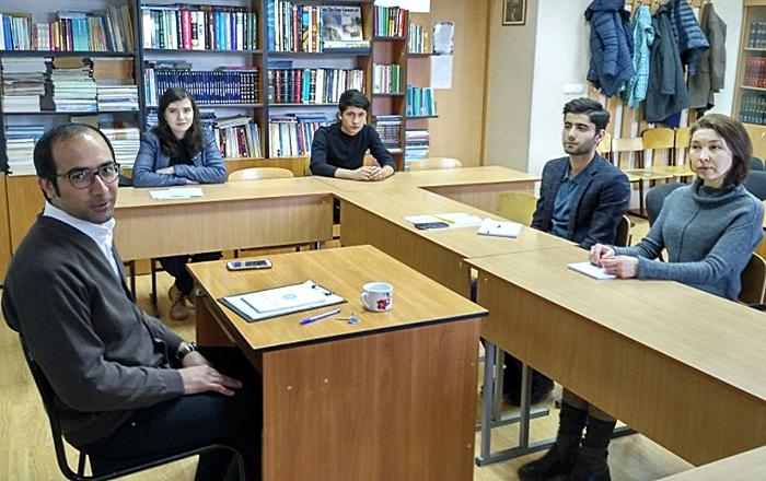 ATU Student Teaches in Dagestan